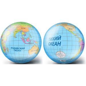 Мяч 23 см Глобус 82320