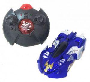 Антигравитационная машинка Wall Climber Синяя АС16