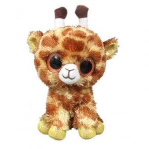 Жираф коричневый 15 см М0031