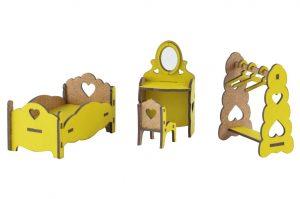 Мебель цветная Спальня М-016 / М-010