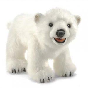 Мягкая игрушка Полярный медвежонок 35 см 3041