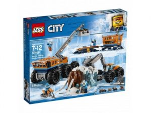 Игрушка LEGO City Арктическая экспедиция Передвижная арктическая база 60195
