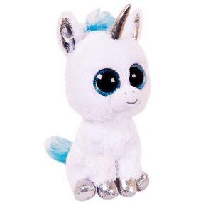 Мягкая игрушка ABtoys Единорог голубой 14см М0058