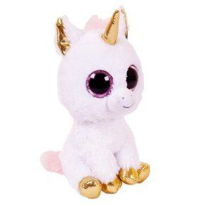 Мягкая игрушка ABtoys Единорог розовый 14см М0059
