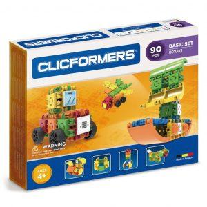 Развивающий конструктор CLICFORMERS Basic Set 90 деталей 801003