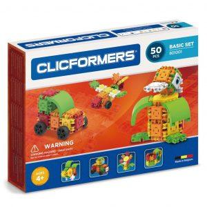Развивающий конструктор CLICFORMERS Basic Set 50 деталей 801001