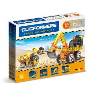 Развивающий конструктор CLICFORMERS Construction set 74 детали 802001