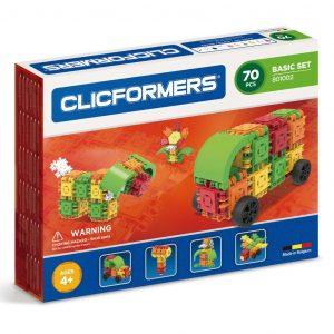 Развивающий конструктор CLICFORMERS Basic Set 70 деталей 801002