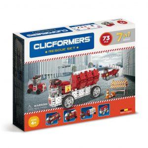 Развивающий конструктор CLICFORMERS Rescue set 73 детали 802003