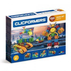 Развивающий конструктор CLICFORMERS Basic Set 150 деталей 801005