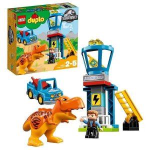 Игрушка LEGO Duplo Jurassic World Башня Ти-Рекса 10880