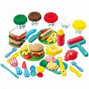 Набор с пластилином Dough Гамбургер 8220