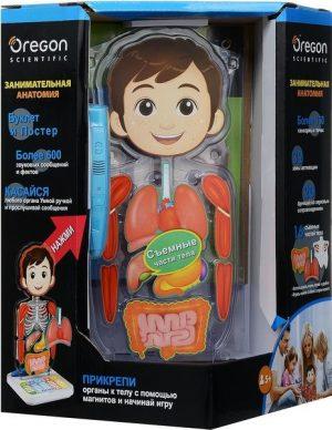 Интерактивная игрушка Oregon Занимательная Анатомия SA218