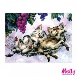 Картины по номерам Molly ДЕТСТВО 15*20 12 цветов КН0045