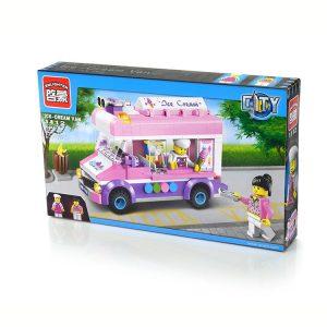 Конструктор ENLIGHTEN BRICK серия Девочки Фургон мороженого 213 деталей С1112/1112