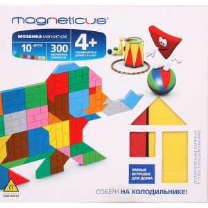 Миди мозайка MAGNETICUS Слон 300 элементов 10 цветов MM-010