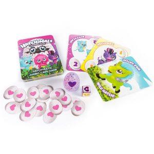 Настольная игра Hatchimals Игровые карты и коллекционная фигурка 98418