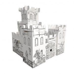 Картонный домик Балуем и балуемся Рыцарский замок 103