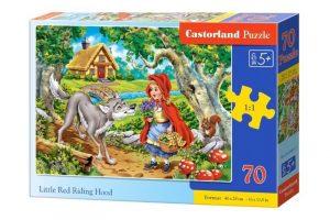 Пазлы Castorland Красная шапочка 70 деталей В-070015