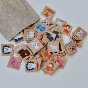 Дидактический набор RADUGA KIDS Мемори Мир животных в мешочке