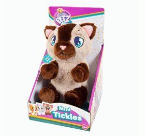 Интерактивная игрушка IMC Toys Котенок бежево-коричневый со звуковыми эффектами 96769