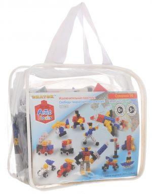 Конструктор ARTEC сумочка яркие цвета 15-2208-ART