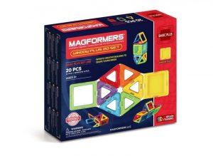 Магнитный конструктор Magformers Window Basic Plus 20 Set 715001