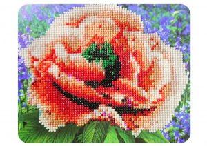 Алмазная картина Color Kit Алый мак М002