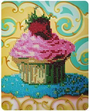 Алмазная картина Color Kit Красивый десерт М010