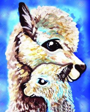 Алмазная картина Color Kit Мама и дитя М015