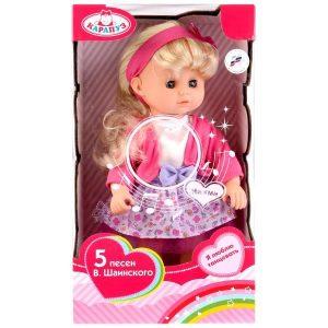 Кукла Карапуз 30см поет 5 песенок в ассортименте 14105-RU