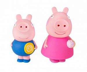 Игрушки для ванной Пеппа и Джордж 34804