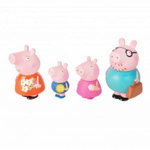 Игрушки для ванной Семья Свинки Пеппы 34805