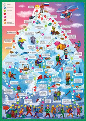 Настольная игра Игра ходилка Эверест 6+