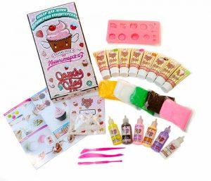 Масса для лепки Candy Clay Набор полимерная кондитерская 11-0017