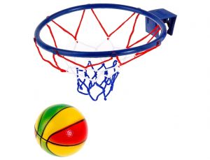 Баскетбол Меткий бросок мяч + кольцо 16см 541430