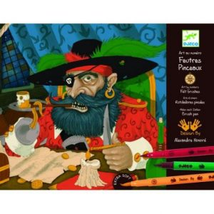 DJECO Раскраска Пираты 08689
