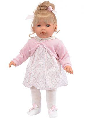 Кукла Antonio Juan Зои в розовом 55 см 1825P