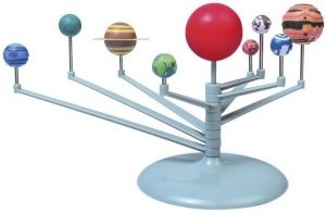 Сборная модель для раскрашивания Эспериментариум Планетарий Т14039