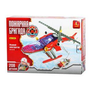 Конструктор AUSINI Пожарная бригада Вертолет со спасательной корзиной 24501