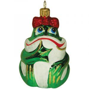 Елочное украшение Царевна лягушка С837