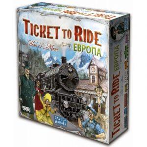 Настольная игра Ticket to Ride Европа 1032