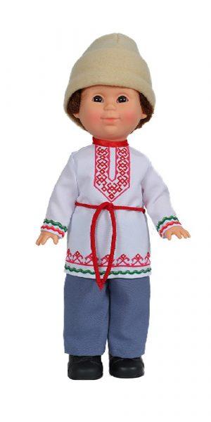 Кукла Весна Митя в марийском костюме В2849/0