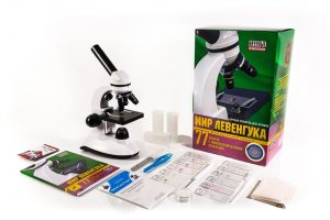 Микроскоп Мир Левенгука HP00006
