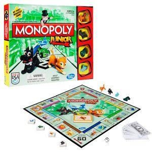Настольная игра Hasbro Games Моя первая Монополия А6984