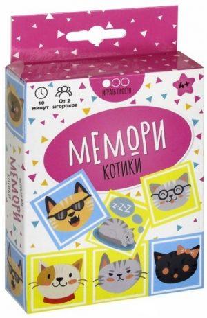 Настольная игра Muravey Games Мемори Котики ТК001