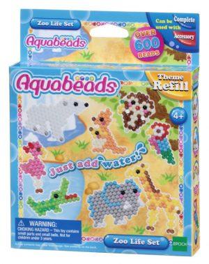 Набор Aquabeads Зверюшки в зоопарке 31078
