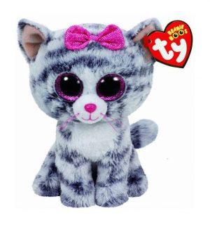 Мягкая игрушка TY Кошка Kiki 15см 37190