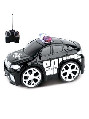 Машинка на радиоуправлении Police Car черная 5588-23
