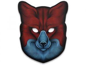 Световая маска с датчиком звука GeekMask Fox GM-FOX
